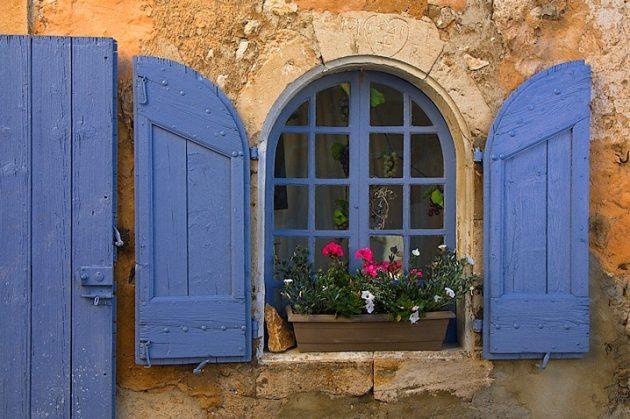 окно в стиле прованс