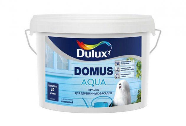 Акриловая фасадная краска Dulux