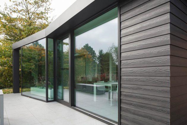 Фиброцементный сайдинг - один из современных видов отделки фасада