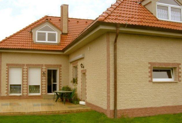 Один из самых популярных видов фасадных материалов - кирпич