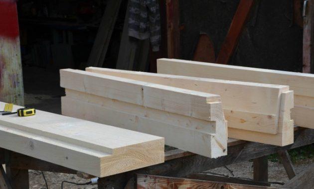 Окосячка оконных и дверных проемов в деревянном доме необходима