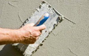 Штукатурка фасадная цементная