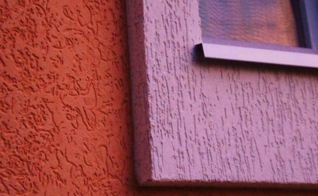 Штукатурка короед в отделке фасада