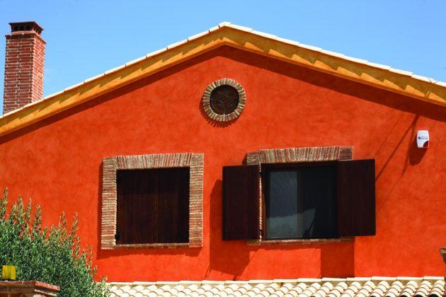 Штукатурка - популярный вид облицовки фасада