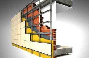 Вентилируемые фасады, материалы