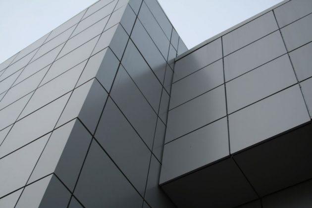 Вентилируемый фасад, материал отделки - стальные панели