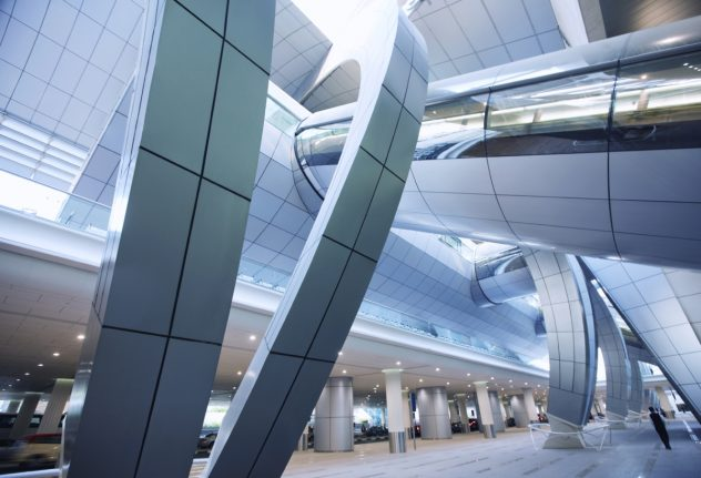 алюминиевые панели подходят для фасадов сложных форм
