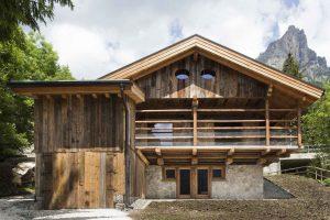 альпийский домик шале