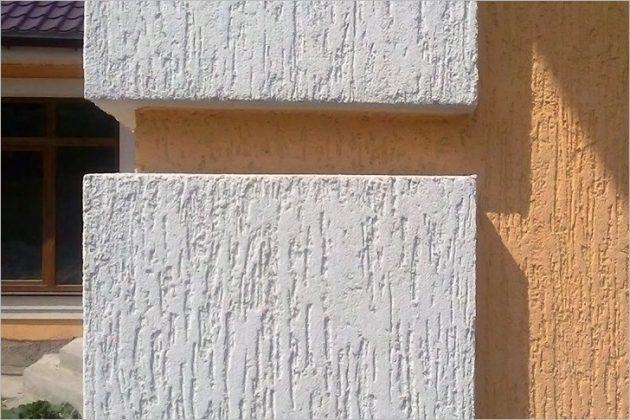 фасадная штукатурка короед