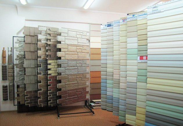 фасадные и цокольные виниловые панели