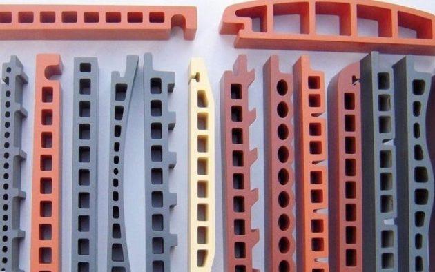 объемные керамические панели в разрезе