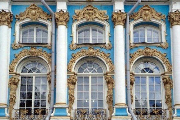 окна дома в стила барокко