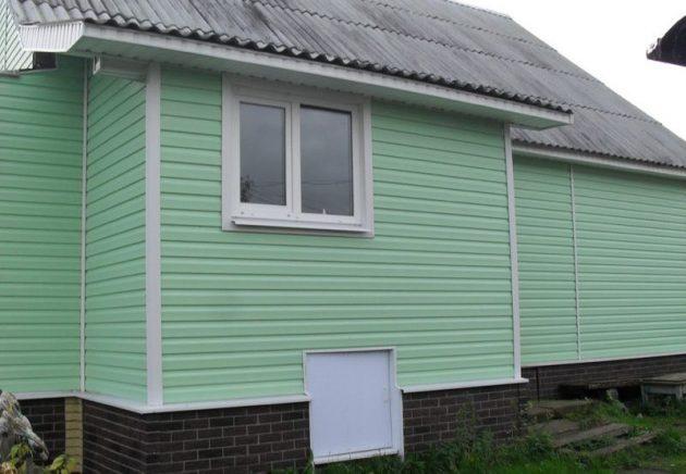 вентилируемый фасад из сайдинга