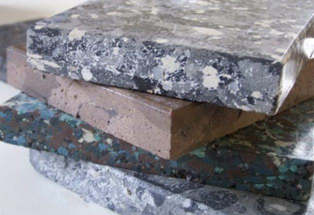 смолистый искусственный камень