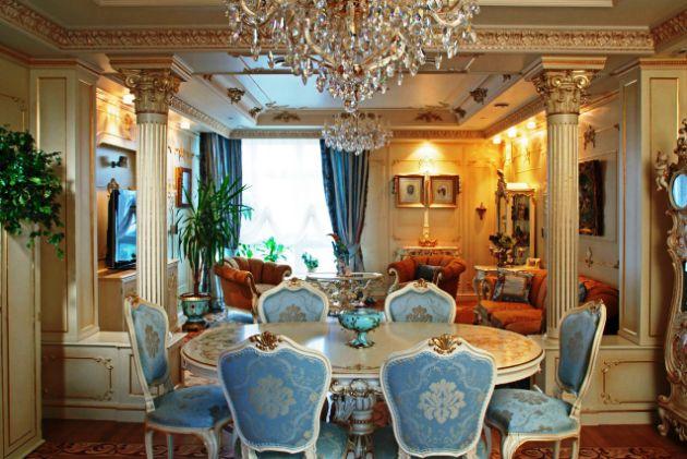 интерьер дома в стиле барокко