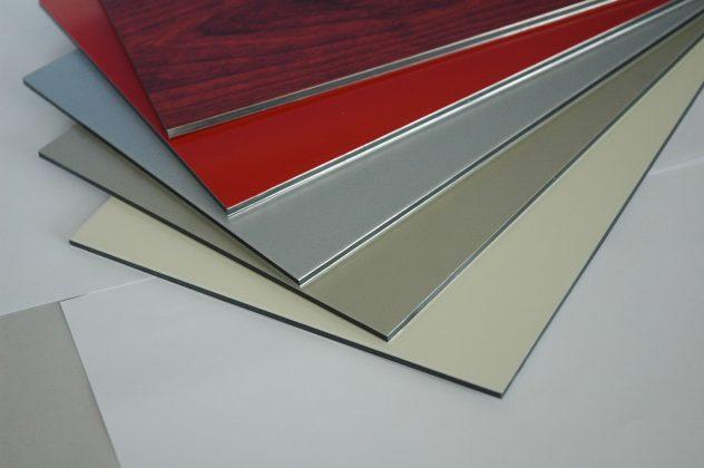 виды алюминиевых панелей для фасада